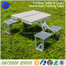 Foldable Picnic Camping Set Promotion Table with 4 Chairs