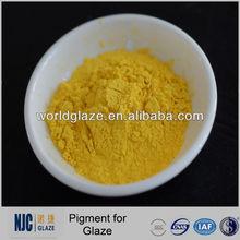 de cerámica del pigmento amarillo para esmalte