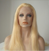 100% Human American Style Hair High Quality Beautiful Full Head Blonde Wigs