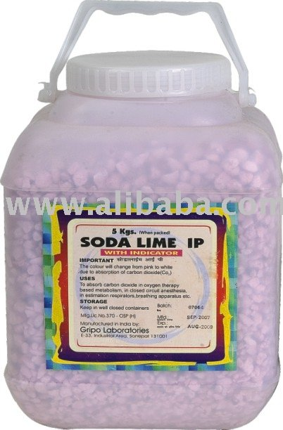 De Soda de lima para aplicaciones médicas