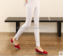 Korean shining lady leather thin mercerized Leggings thin section of spring and autumn jeans cotton pencil pants tights