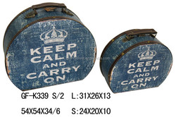 SPECIAL BAG SHAPE CROWN SUITCASES