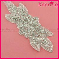 Wholesale Fashion High end wedding sash bridal applique and trims WRA-512