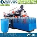 200L de polietileno de alta densidad de moldeo por extrusión soplado máquina