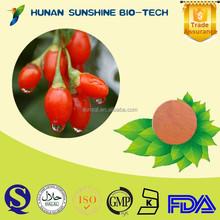 Herbal Medicine Extract Wolfberry Extract Powder Strengthen Liver & Kidney & Improve Eyesight