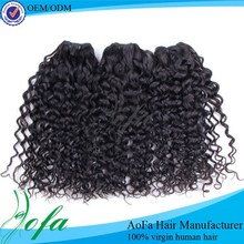 100% unprocessed cheap remy loose curl weave mongolian human hair
