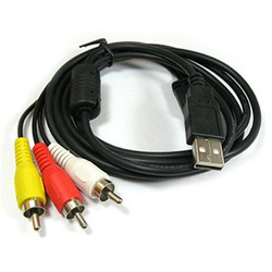 30-pin to usb rca audio video cable