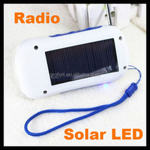 New Products Multifunctional Solar Radio with LED Lights for Camping Solar Radio Factory Price