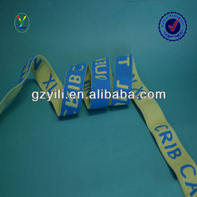 32mm nylon with rubber wide jacquard color elastic band