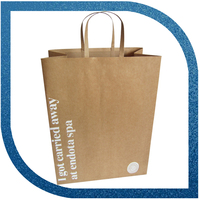 Hot sale recyclable brown paper bag with guaranteed quality