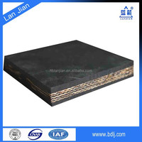 Famous brand EP canvas cheap conveyor belt used