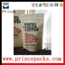 Factory direct manufacturer plastic bag jakarta coffe bag