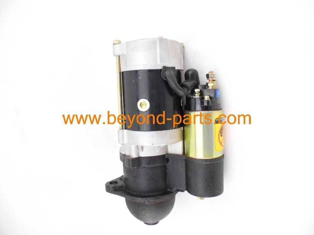 starting/ starter / start motor for 4d95 engine of pc60 pc90 excavator with 9t 3.8kw 24v
