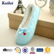 Fancy ladies button ballet flat ballet shoes