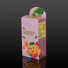 Custom PVC/PET/PP Clear Box Baby Favor Box, Baby Keepsake Box Wholesale