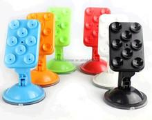 2015 Hot Selling Factory Directly Customized logo Promotional silicone phone holder