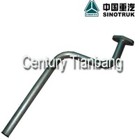 Good quality Howo spare parts OIL RETURN PIPE VG1560070003