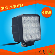 30000 Hours! 48W led worklights 6000K 2800lm Cheap 48 watt Offroad led work light