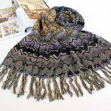2014 nueva moda de la mujer romance bufanda mantón silenciador abrigo de venta al por mayor