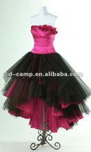 OC-704 High Low Ball Gown Strapless prom dresses 2012