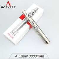 Fast Shipping Rofvape A Equal 3000mah vaporizer smoking device with cloud vapor
