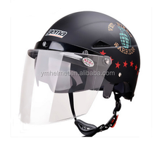 YM-321 double visor summer bicycle helmet yema motorcycle anti riot ski helmet with visor