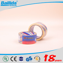 New products 2016 made in china OEN logo printed waterproof adhesive strapping tape