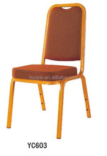 golden oil panting hotel banquet chair for sale YC603