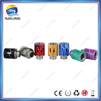 china top ten selling products colorful acrylic drip tip mit airflow