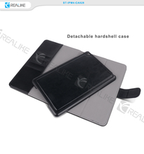 2015 Innovation products detachable wallet leather case for ipad mini 4 with strong magnetic