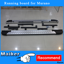 Auto spare parts Running Board for Nissan Murano 2011+ Side Step Car exterior accessories
