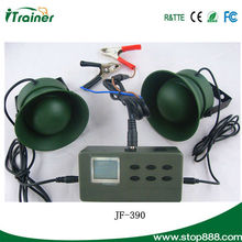 Electronic two speakers hunting decoy bird machine with various birds sounds