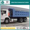336hp sand tipper truck Sinotruck HOWO 6x4 dump trucks for sale