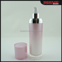 wholesale 100ml cosmetic body care acrylic material bottle for natural lotion foudation liquid