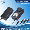 switching power supply 100-240v AC to 12V DC 3a in gray white black color