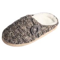 Sheep Wool Fleece Sheepskin Slippers Women For Winter