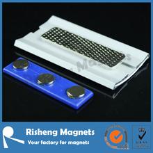 magnetic name badge holder magnet set magnet for badges