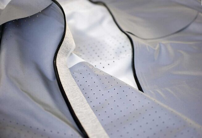 breathable reflective fabric