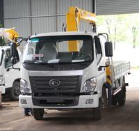 4T 4X2 crane truck mounted crane