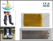 foot massager for PI/PET film heater, 3V-5V heating film