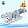 chocolate jacketed rotary lobe pumps gear pump animation