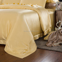 2015 newest plain silk duvet cover with the cheapest price(AUS queen size)