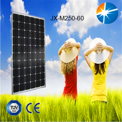 Excellent quality assurance 250w JX pv solar panel with attractive price per watt