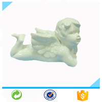 New Hot Custom Wholesale Ceramic life size angel statue