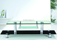 T-20 high quality cheap used western living room furniture centre glass lcd TV table