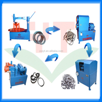 good after-sale sevice used tire rim cutting machine/wasted tire bead rim remover/tire scrap recycling equipment