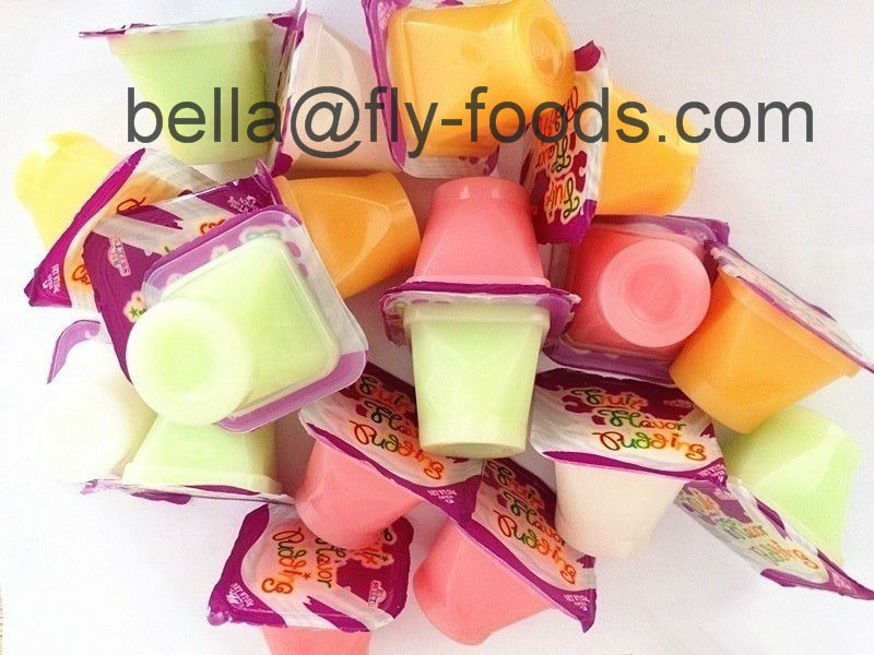20g Coconut Cup Jelly Pudding With Multi Fruit Flavours