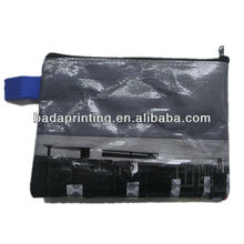 Small Fancy PP Woven Laminated Shopping Bag With Zipper