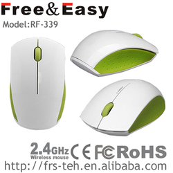 Cheap laptop 2.4g wireless rf 3d wheel optical mouse
