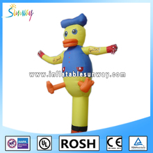 Air characters Donald inflatable promotion cheap duck